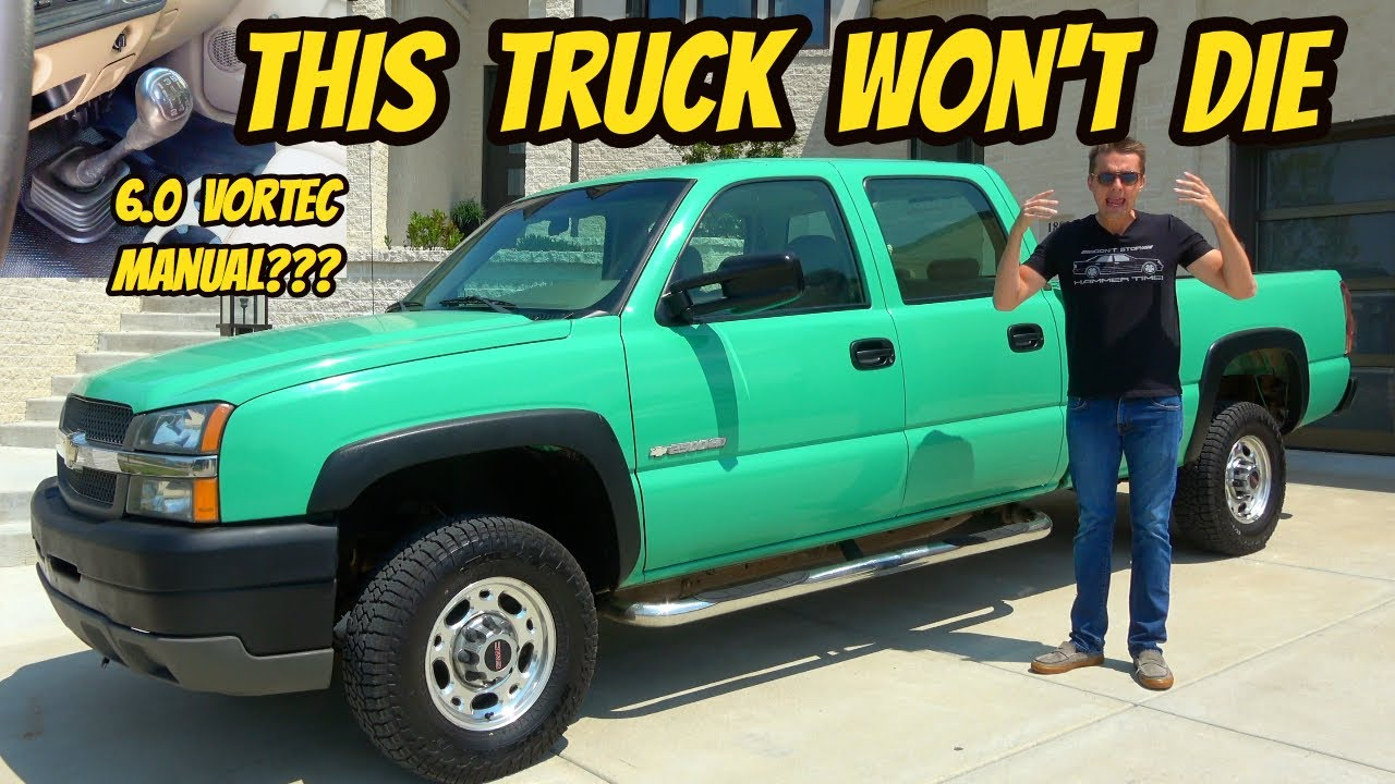 Here's Why The GMT800 Chevrolet Silverado Truck Lasts Forever; Featuring The Weirdest Example Ever!