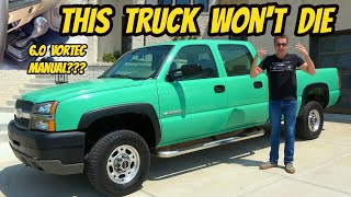 homepage tile video photo for Here's Why The GMT800 Chevrolet Silverado Truck Lasts Forever; Featuring The Weirdest Example Ever!