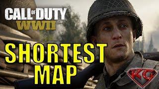 COD WW2 Multiplayer Gameplay - Smallest Map in COD WW2