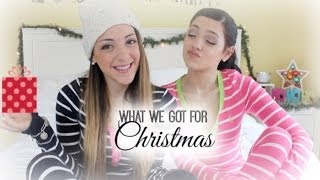 What We Got For Christmas Haul | Niki and Gabi
