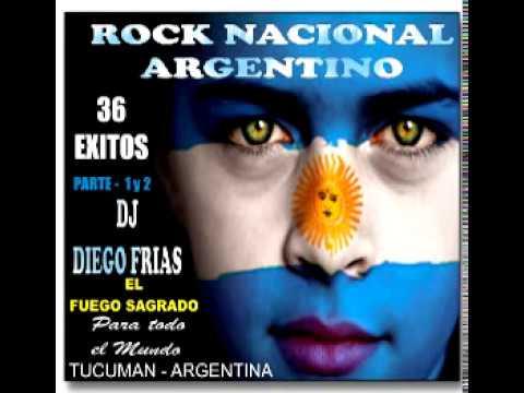 ROCK NACIONAL ARGENTINO 80's..90's - PARTE - 02 dj diego frias