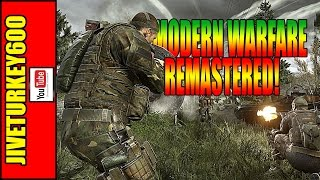 MODERN WARFARE REMASTERED! PC Port Lags and it Sucks (For now)