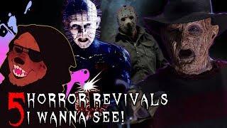 Dr. Wolfula - 5 Horror Franchise Revivals I Wanna See!