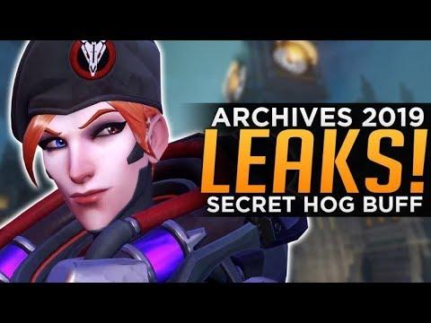Overwatch: Archives Event LEAKS! - Secret Roadhog BUFF!