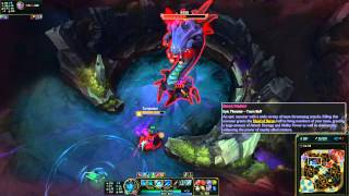 Sated Devourer: Kalista Throws 2 Spears at Main Ta