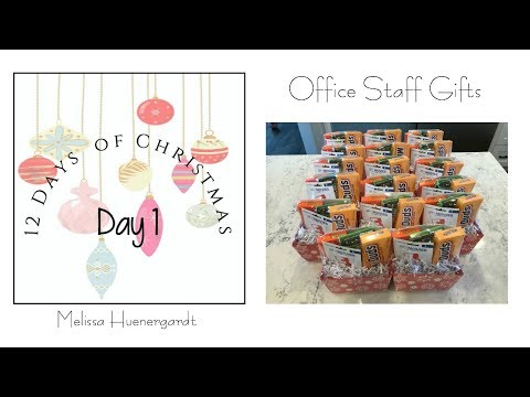 EASY CHRISTMAS GIFTS | OFFICE STAFF | My Intentional Life