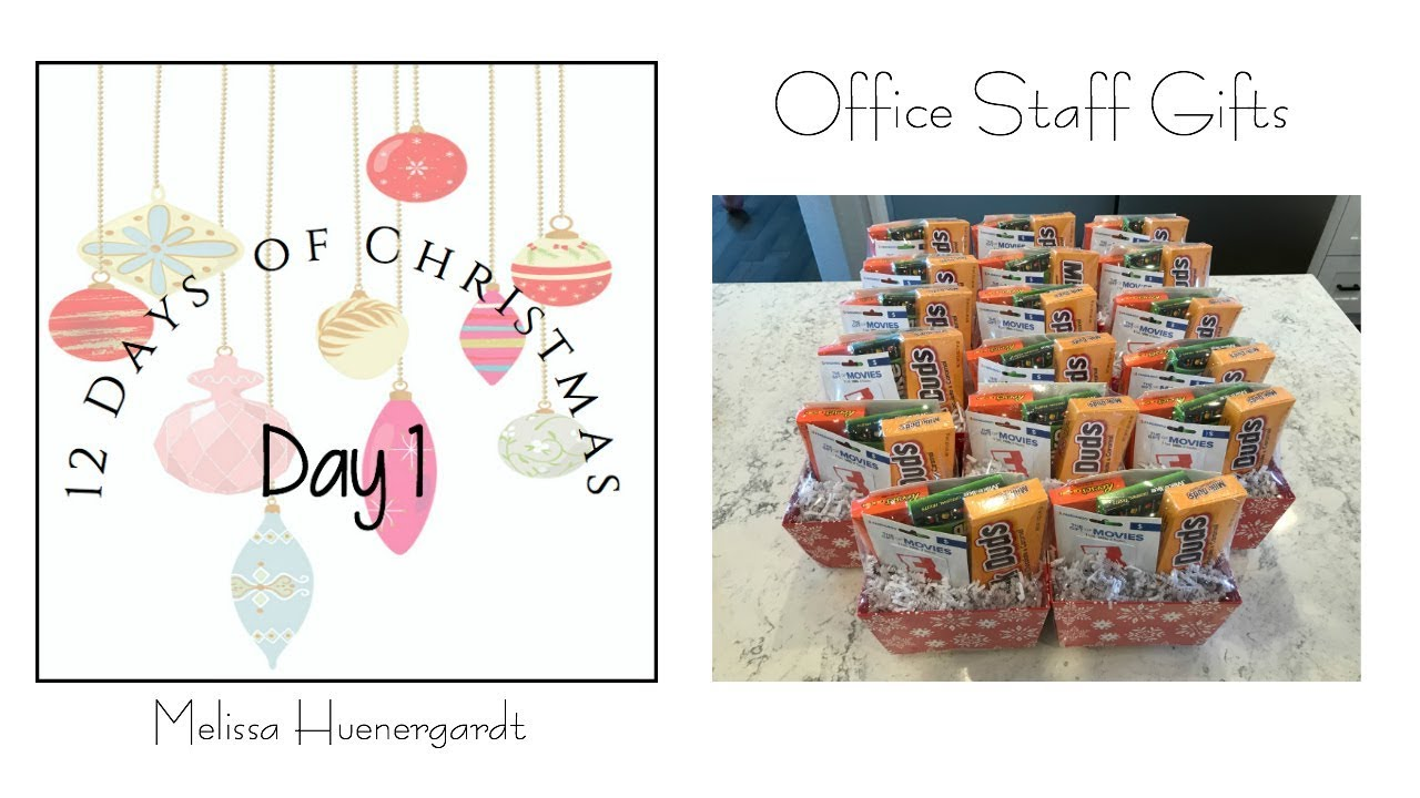 Easy Christmas Gifts Office Staff My Intentional Life