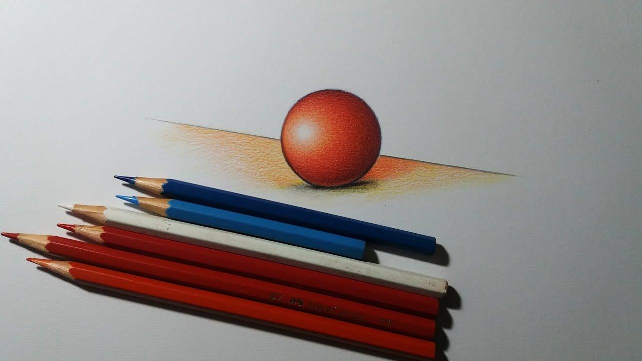 طبيعة صامتة بألوان الخشب للمبتدأين تعلم اسهل طريقة لدمج الألوان الخشبية تعلم الرسم بالالوان الخشب Youtube