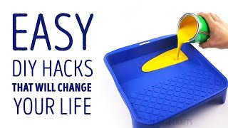 Easy DIY hacks that will change your life l 5-MINUTE CRAFTS