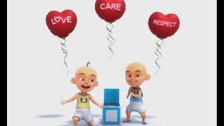 Upin & Ipin UNICEF Malaysia National Ambassador - Love, Care, Respect [ENGLISH VER]