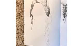 Over the shoulder braid