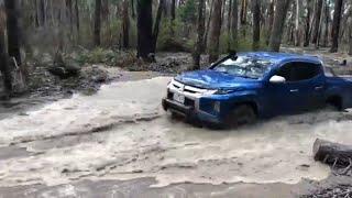 Mitsubishi Triton MR - Wombat Forest. Resimi