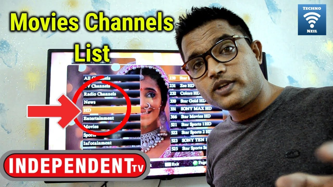 Reliance Big TV Exclusive | Independent TV Complete Movie Channels List  Live Demo in Hindi