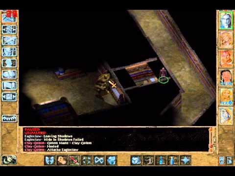 Let's Play Baldur's Gate 2 Part 91: To Kill a Clay Golem  