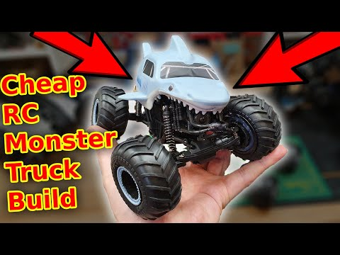 Build Your Own MICRO RC Monster Truck ***CHEAP***
