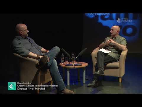 Neil Marshall inteviewed by Dr Adam Locks