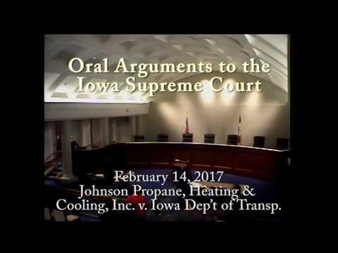 16–0906 Johnson Propane, Heating & Cooling, Inc. v. Iowa Dep't of Transp., February 24, 2017