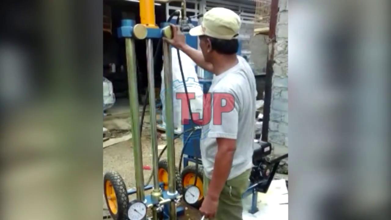 Uji Sondir Hydraulic 5 Ton Youtube