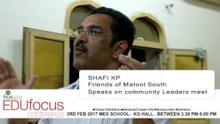 Shafi KP FOMS-EDUfocus