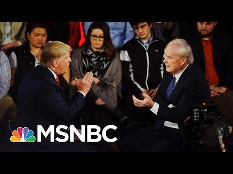Donald Trump's Hazy Stance On Abortion 'Punishment' | Hardball | MSNBC