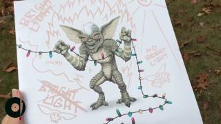 Gremlins Soundtrack by Jerry Goldsmith Reissue MONDO records UNBOXING