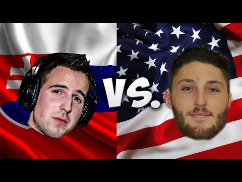 LANGUAGE CHALLENGE: SLOVAKIA VS. UNITED STATES OF AMERICA /W JOREY