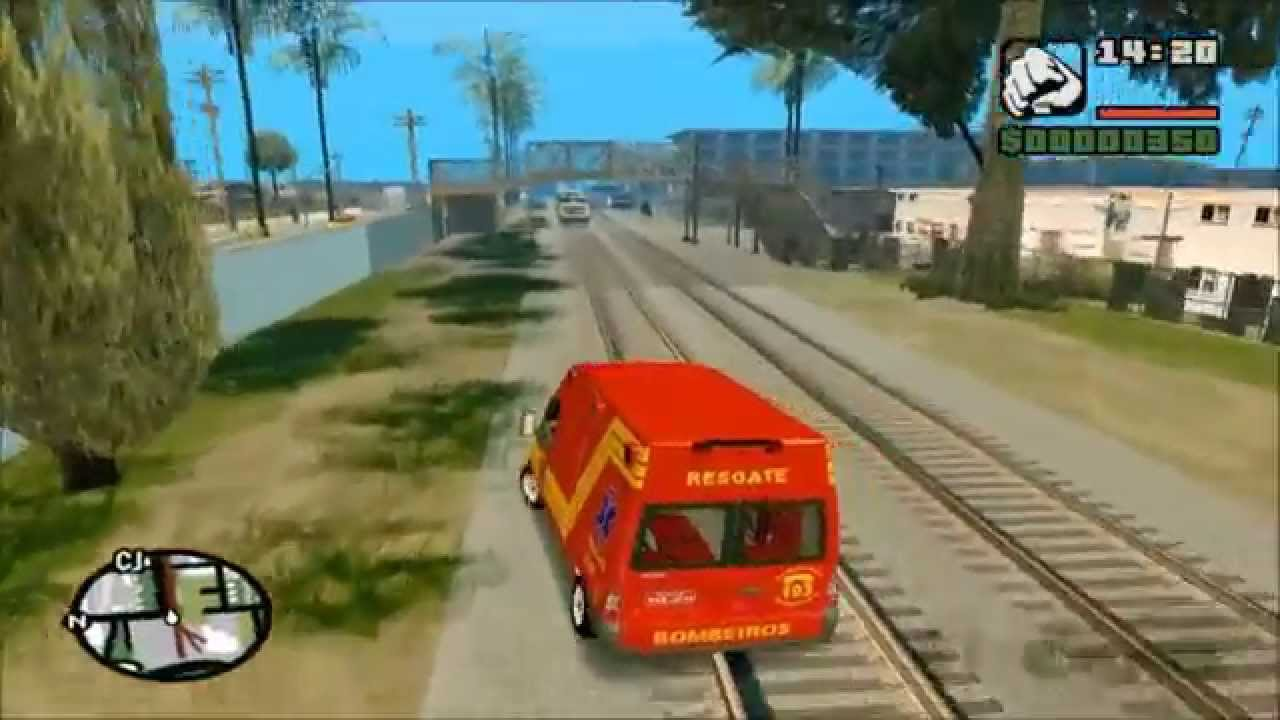 DO ANDREAS PC AMBULANCIA SAMU BAIXAR GTA SAN PARA