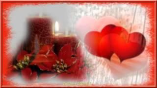 TWO CANDLES FOR TWO HEARTS -- DEUX BOUGIES POUR DEUX CŒURS