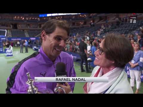 Tennis Channel Live: 2019 US Open Champion Rafael Nadal Interview