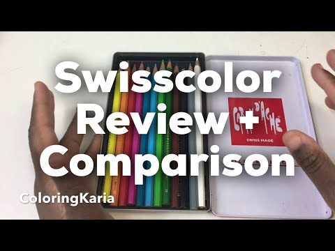 Swisscolor by Caran d Ache review and comparison