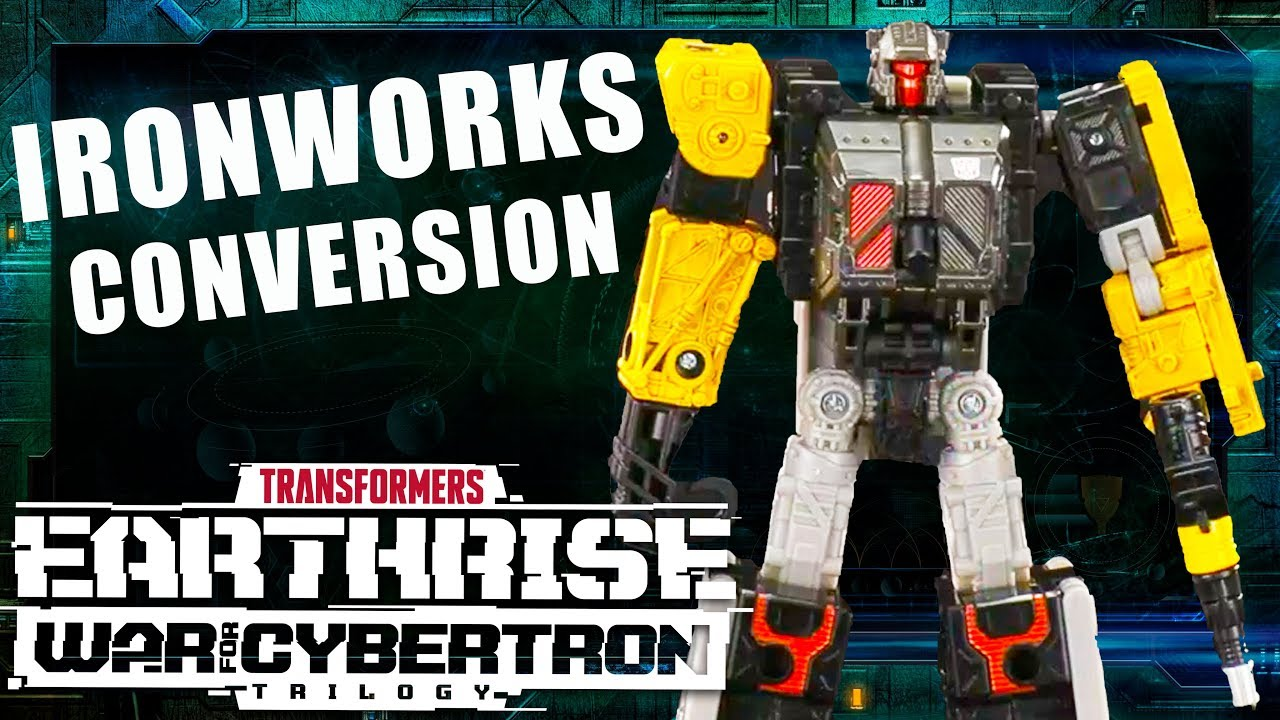Transformers War for Cybertron: Earthrise - How to Convert Ironworks Official Video