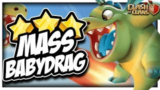 NEW TH10 Queen Charge Baby Dragons Guide   Clash of Clans