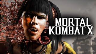Mortal Kombat X -  Бой с Девушкой! Мастер Класс!