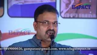 JD Lakshmi Narayana IPS at IMPACT vizag on topic transformation