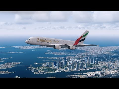 Emirates A380 from Sydney to Dubai