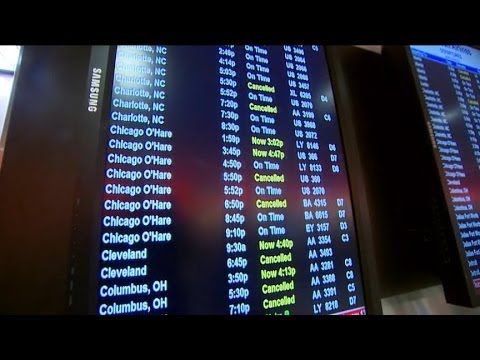 6,400 Flights Canceled Throughout US Airspace