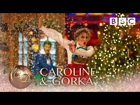 Caroline Flack & Gorka Marquez Charleston to 'Santa Claus Is Coming to Town' - BBC Strictly 2018