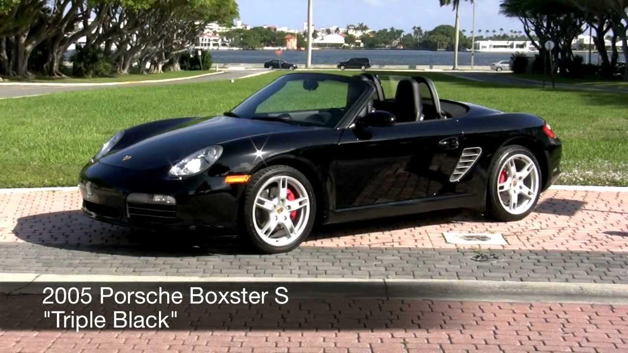 2005 Porsche Boxster S Black Community Auto Sales Palm