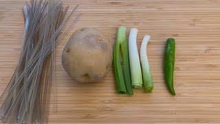 닭고기 없이 감자, 당면으로만 찜닭 만들기