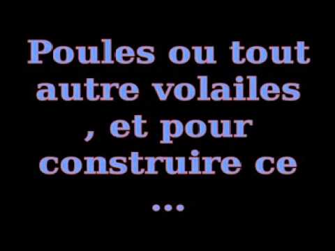 voici comment construire un poulailler tutorial 2014 youtube. Black Bedroom Furniture Sets. Home Design Ideas