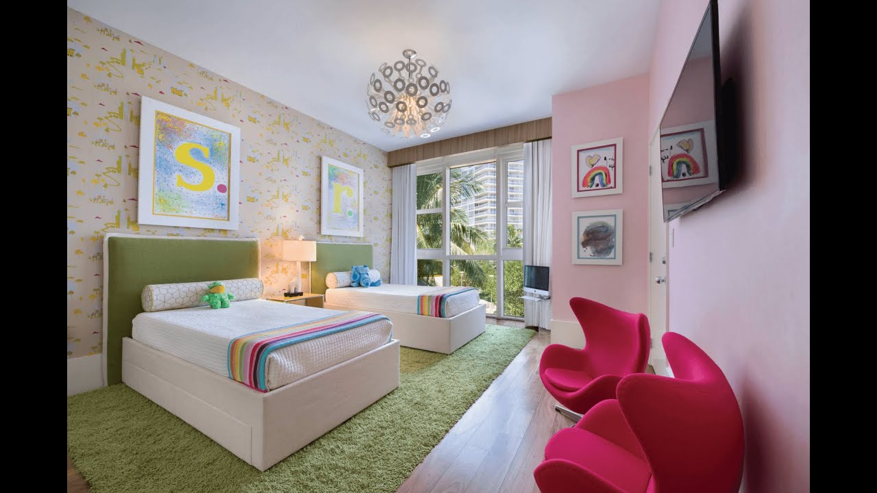 Creative Shared Bedroom Ideas for a Modern Kids\' Room - YouTube