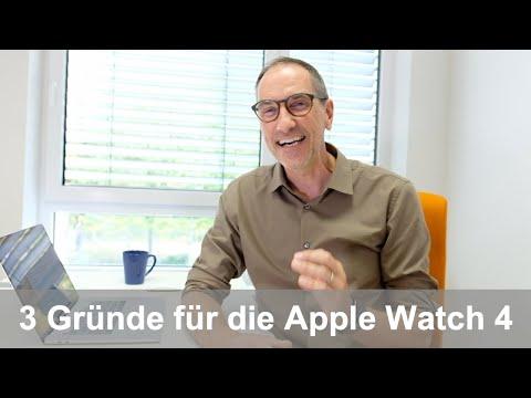 3 Gründe, warum ich mir eine Apple Watch 4 bestellt habe