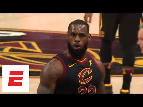 LeBron James' Buzzer-beater Tops His Highlights From Game 3 Win Over Raptors | ESPN