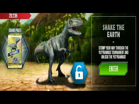 Jurassic World: The Game (YUTYRANNUS TOURNAMENT)