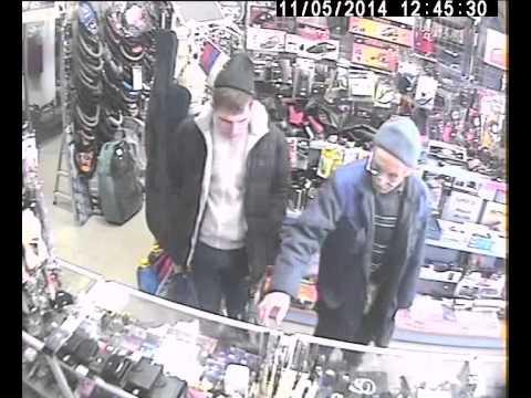 Парень унёс нож из бутика в Берёзовском