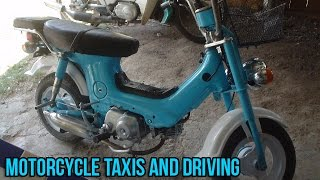 Motorcycle Taxis and Driving in Thailand Video 56