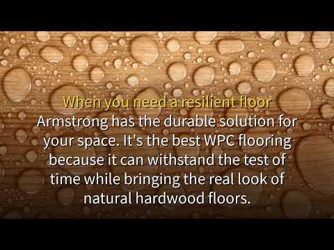 Armstrong Pryzm Ridged Core Waterproof Vinyl Wood Plank Flooring