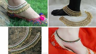 Video Latest# Bridal Payal Bride Anklets Designs #2018| Trendy designs download MP3, 3GP, MP4, WEBM, AVI, FLV Oktober 2018