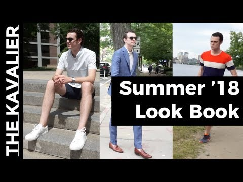 Summer Look Book [Sport, Casual, Suited] | Boston Cinematic Style With Carlos Escobar