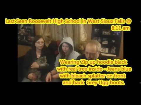 ALERT: FAITH MCSHANE - MISSING 15 YEAR OLD GIRL SIOUX FALLS SD